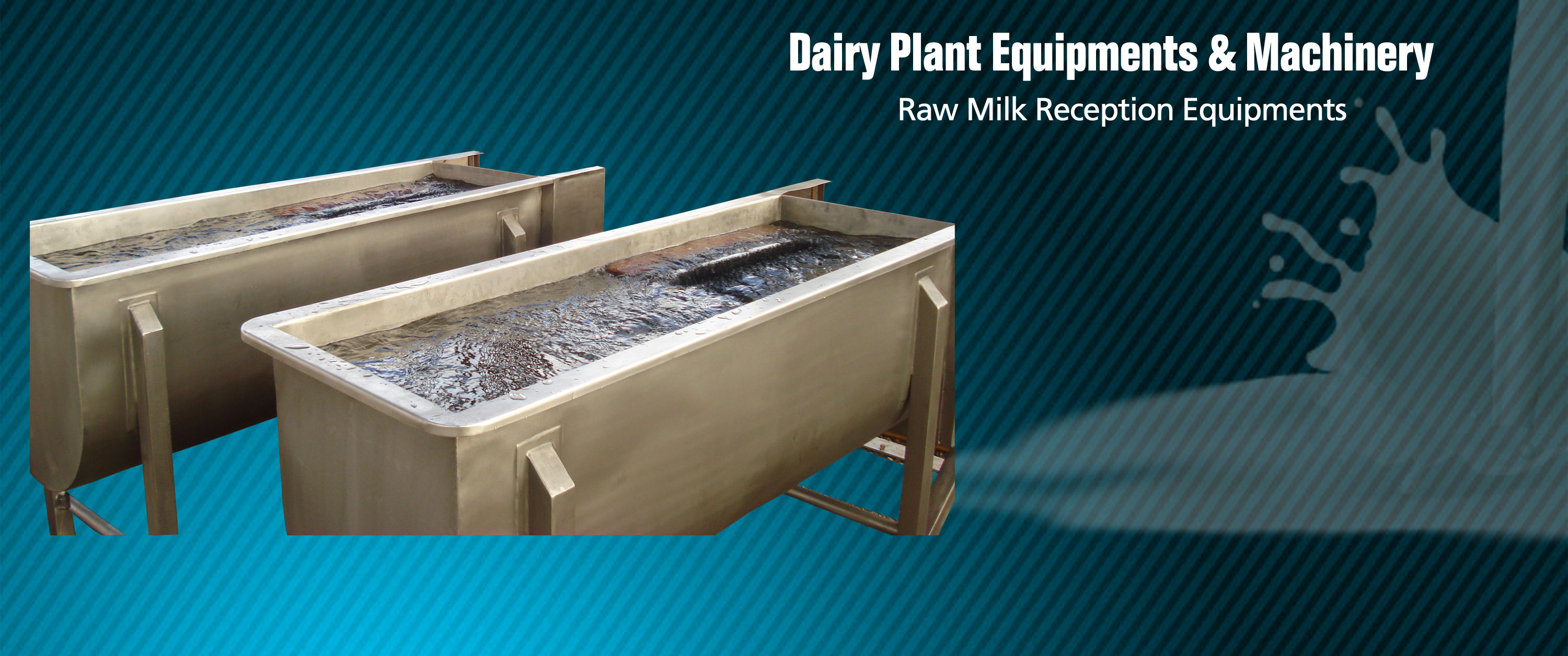 dairy plant equipments and machinery